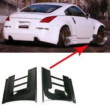 FRP Craft Front Fender Extension Flow Vent Duct Fit For Nissan 350Z