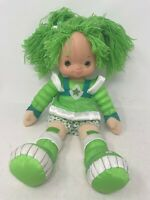 "Vintage Rainbow Brite Patty O'Green LARGE 18"" Green Plush Hallmark Doll"