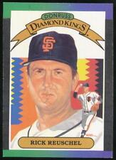 1989 Donruss Diamond Kings #11 Rick Reuschel San Francisco Giants