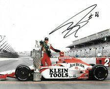 Dan Wheldon SIGNED 10x8 Andretti Green Racing Indy 500 Win Portrait  2005