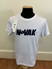 New Nwt Lacoste Sport Novak Djokovic Shirt T Shirt White Size Medium 4 / M