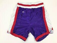 Vtg 80s 90s RAWLINGS Gym Basketball Shorts Adult 34 USA Retro Poly Nylon Purple