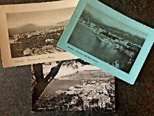 3 CART. di SORRENTO - NAPOLI - SAN ANTONIO - HOTEL MINERVA - VESUVIO - 1950/'57