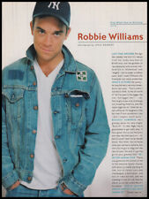 Robbie Williams 1-pg clipping 2000 - Sing When You're Winning