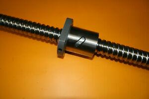 1 Stück NEFF Kugelgewindetrieb KGT 32x10 x ca.570mm lang mit DIN-Flanschmutter
