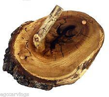 Log Hand Towel Coat Hat Rack Holder Natural Wood Rustic Log Cabin Decor