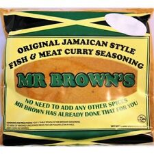 Mr Brown's Fish & Meat Curry Seasoning 140g