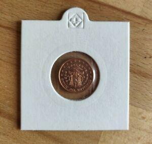 1 Cent Vatikan Sede Vacante 2005
