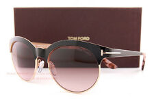 3956cbd8f Brand New Tom Ford Sunglasses FT 438 Angela 01F Black/Pink Gradient Women