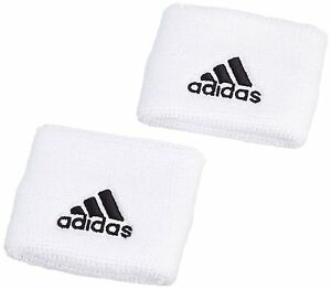 adidas- Schweißband weiß/schwarz. Jogging. Fußball. Fahrrad. Fitness.