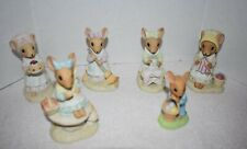 New ListingCountry Calico Mice Figurines - Enesco - Lot of 6 Various Figurines