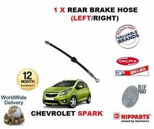FOR CHEVROLET SPARK 1.0 1.2 2010->NEW REAR BRAKE HOSE  LEFT / RIGHT 96534545