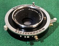 Schneider Angulon 65mm f6.8  Compur #00 size shutter