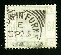 Great Britain Stamps # 105 VF Used Scott Value $240.00