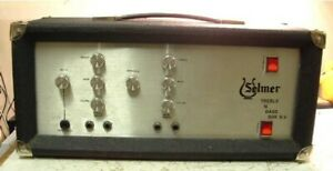 Selmer Treble And Bass 50 RV Value early 70's Guitar amplifier