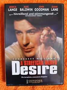 A Streetcar Named Desire (1995) DVD import audio Italiano Jessica Lange Baldwin