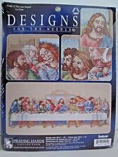 Janlynn THE LAST SUPPER Counted Cross Stitch Kit 1149-11 SEALED Praying Hands