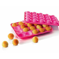 Silicone Cup CAKE POP SET Mould Maker Baking Tray with 20 Sticks Bakeware offer
