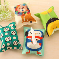 Cute Animal Design Decor Tissue Box Napkin Cover Holder Home Toilet Paper Case