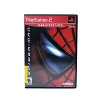 Spider-Man (Sony Playstation 2) PS2 Game No Manual TESTED