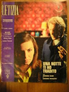 Fotoromanzo Fotoromanzi LETIZIA n 133 1970 Adriana Rame Luciano Francioli Lancio