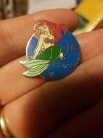 Disney World pin Zodiac Pisces The Little Mermaid Ariel Hidden Mickey (USED)