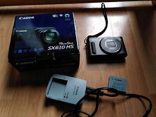 Canon PowerShot SX610 HS Black Digital Kamera Digitalkamera 20,2 MP