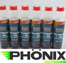 6x Bleiersatz Bleizusatz Benzin Additiv Blei Ersatz 1:1000 250ml