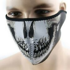 Skull Half Face Mask Neoprene