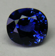 SAPPHIRE 2.62ct!! NATURAL BLUE COLOUR- EXPERTLY FACETED IN GERMANY+CERT INCLUDED
