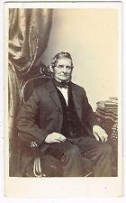RALPH WALDO EMERSON in Boston Massachusettes by F.L. Lay 1860's CDV