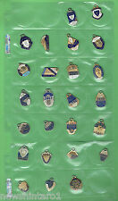 #T40. CANTERBURY BULLDOGS RUGBY LEAGUE CLUB MEMBER BADGES 1962 to 1986