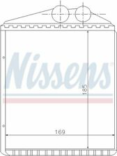 HVAC Heater Core-GAS, Turbo, 9440 Front Nissens 73377