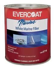 Fibreglass Evercoat 320-0574 White Marine Filler Gallon White Cream Hardener