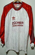 Maglia calcio Adidas Zuchner verschlusse vintage80 shirt camiseta soccer adidas