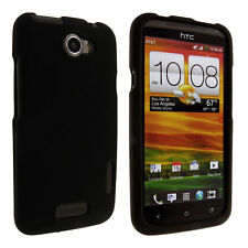 Black Snap-On Hard Case Cover for HTC One X