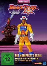 BRAVESTARR - LA COMPLETO SERIE DE TV - EPISODIOS 1 - 65 + PILOTFILM 4 Caja DVD