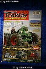 Oldtimer Traktor 5-6/08 Deutz Sechszylinder MH Pony Fendt Mammut M12 Unimog 404