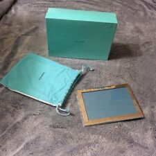 Tiffany & Co Pewter Engraved American Savings Bank Picture Photo Display Frame
