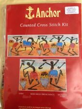 Anchor counted Cross stitch kit, Mziki Mkali ( Break Dance) sealed #EPX803