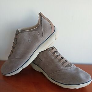 US Size 12 GEOX Casual Grey Used Shoes Italy