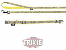 Trixie Dog Collar with Phosphorescent Leash, X-Small/Small, Yellow