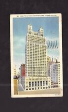 Vintage Postcard Fidelity National Bank Building Kansas City Mo