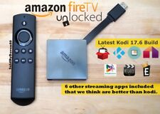 🔥 Amazon Fire TV Box - 4K Ultra HD - Kodi 17.6 & Extra MOVIE/TV Apps🔥