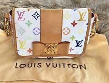 100% Authentic LOUIS VUITTON - PATTI Multicolor Shoulder Bag-VERY RARE-Preowned