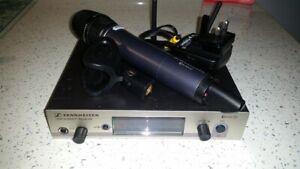 Sennheiser EW 300 G3 Radio Receiver with SKM 300 Hand held transmitter Mic