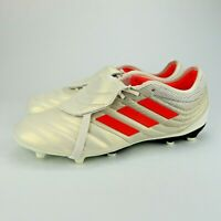 Adidas Men's Copa Gloro 19.2 FG Soccer Cleats (Off White/Red) Mens Size 12.5
