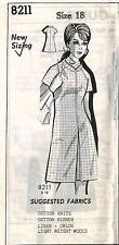 1970's VTG Mail Order by Millie Mercury  Misses' Dress Sewing Pattern 8211   18