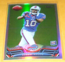2013 Topps Chrome Refractor #3 Robert Woods WR Bills RC NM-MT