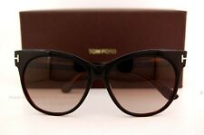 0a51abc39829 Brand New Tom Ford Sunglasses TF 0330 330 Saskia 03B Black Brown For Women